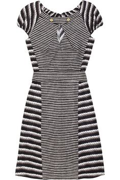 Yves Saint Laurent Printed cotton and silk-blend dress on TheOutnet.com. This dress is perfect for a vacay!