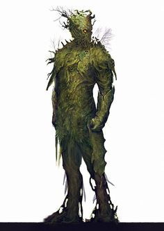 Sons of trees by Nahelus swamp golem humanoid wood concept character monster Tree Monster, Plant Monster, Monster Art, Fantasy Warrior, Fantasy Rpg, Fantasy World, Dark Fantasy, Creature Concept Art, Creature Design