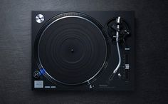Technics Announces a New Turntable, the Black SL-1210GR | Thump
