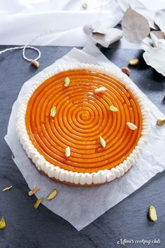 galette des rois 2019 abricot Dessert Aux Fruits, Desserts Fruits, Torte Recepti, Xmas Food, Cakes And More, Pie Dish, Fun Desserts, Nom Nom, Food And Drink