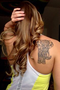 My new elephant tattoo!