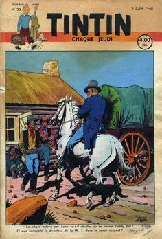 Le Journal de Tintin - Edition Belge - N° 89 - 1948-23 - Jeudi 3 Juin 1948 - Couverture : Etienne Le Rallic