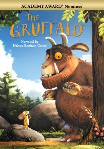 Fantastic Movie for 2 year old and +  2011 Academy Award Nominee for Best Short Film! An animated film based on the classic children's picture book, The Gruffalo tells the magical tale of a mouse who takes a walk though the woods in search of a nut. Encountering three animals who all wish to eat him - a fox, an owl and a snake - the plucky mouse has to use his wits to survive.