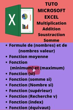 Microsoft Excel, Web Internet, French Expressions, Good To Know, Budgeting, Management, Ads, School, Business
