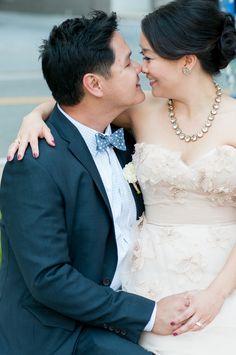 Wtoo Olivia wedding dress  | Photo by Vivian Chen | Read more - http://www.100layercake.com/blog/?p=69758