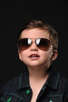 Cool Boy Fun Textured Hairstyle for a Little Boy