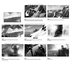 BBC Winter Olympics – Nature by Platige Image, via Behance
