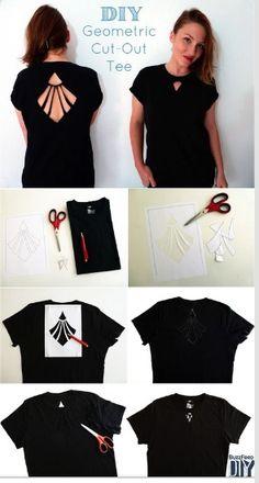 Old t-shirt DIY