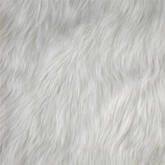 Luxury Faux Fur Fox White from @fabricdotcom  This super soft high quality faux fur fabric has a 50mm long lustrous pile. It's perfect for stuffed animals, faux fur jackets and vests, pillows and throws.