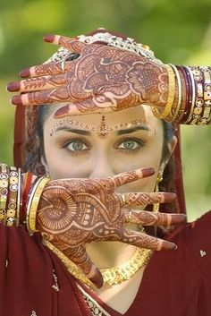 Mehandi Design for Hand Palms