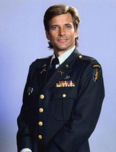 Dirk Benedict of the old A-Team tv series and Battlestar Galactica