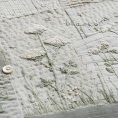 Exploring White in Textile and Stitch: 24th March 2018, Chadlington, Oxfordshire | Caroline Zoob