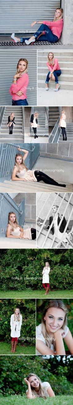 austin senior portrait photographer, senior portraits, holly B. photography, senior posing, senior girl posing, urban senior photos by bernadine