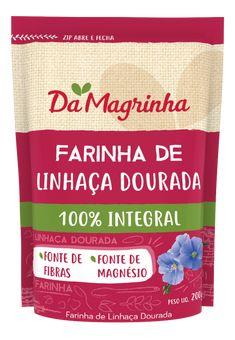 FARINHA DE LINHAÇA DOURADA 100% INTEGRAL Cookies, Drinks, Tableware, Flaxseed Flour, Cake Roll Recipes, Lean Body, Productivity, Cakes, Crack Crackers