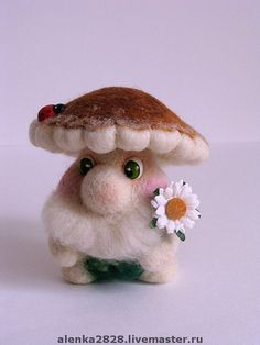 Сказочные персонажи ручной работы. Ярмарка Мастеров - ручная работа Белый гриб. Handmade.