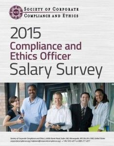 SCCE's 2015 Compliance and Ethics Officer Salary Survey