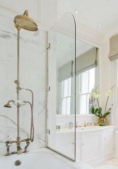 Natural Brass Kitchen and Bath Fixtures   Atticmag   Kitchens, Bathrooms, Interior Design