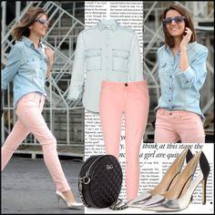 pastel pants jeans
