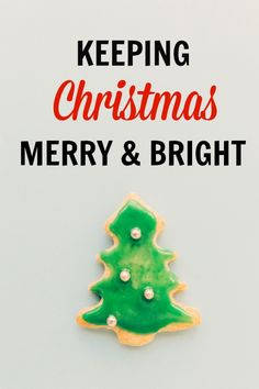 Keep Christmas Merry & Bright and let go of comparison!