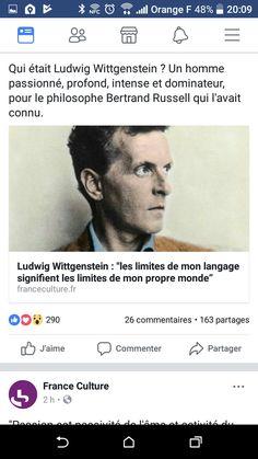 Wittgenstein limites langage = limite mon monde propre