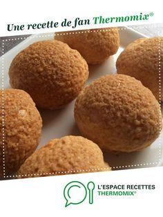 Choux ou chouquettes au craquelin par oupslala25. Une recette de fan à retrouver dans la catégorie Pâtisseries sucrées sur www.espace-recettes.fr, de Thermomix®.
