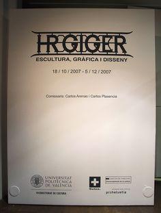 Giger Work Catalog - HR Giger in Valencia