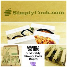 #Win 3, Monthly SimplyCook.com Boxes at The Purple Pumpkin Blog! 16/02/14