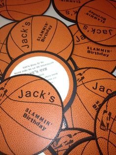 Basketball Invitation by Fort Lauderdale Invitations - Visit our website for ordering information! Fort Lauderdale * Hollywood * Miami * Palm Beaches * We Ship Worldwide