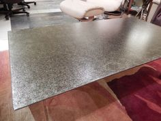 Oios Metal Table sheen and design picture taken in showroom Home