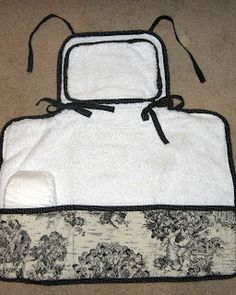 Pickup Some Creativity: Pottery Barn Kids Style Changing Pad Tutorial