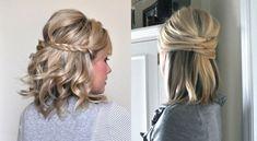 Peinados fáciles para cabello corto, recogidos y semi-recogidos - http://www.bezzia.com/peinados-faciles-para-cabello-corto-recogidos-y-semirecogidos/