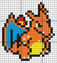Pyssla Pokemon, Hama Beads Pokemon, Peyote Beading Patterns, Hama Beads Patterns, Pixel Art, Legend Of Zelda, Pokemon Cross Stitch, Pixel Beads, Graph Paper Art