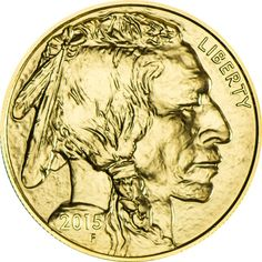 American Buffalo 1 Unze Gold 2015,  9999/10000 Gold