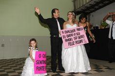 Homenagem da noiva para o noivo foi surpresa e ele adorou!.. :D muita emoção!!