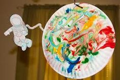 space art crafts for kids - Google Search