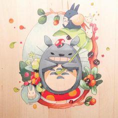 Un superBe ✏️ FanArt  de Tøtørø  ~  Totoro  ~ [Studio Ghibli]