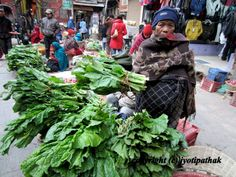 Taste of Nepal: Green Leafy Vegetables - साग-पात हरु - (Part 1)
