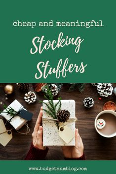 cheap and meaningful stocking stuffers with free santa printable Christmas Lunch, Cheap Christmas, Christmas Baubles, Christmas Budget, Printable Vouchers, Chocolate Coconut Slice, Australian Christmas, Presents For Kids, Budget Planner
