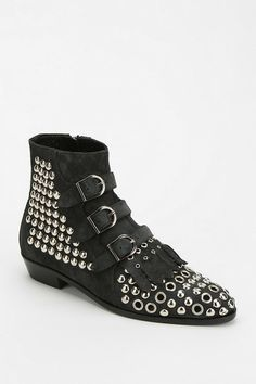 Modern Vice Jett Studded Eyelet Boot #urbanoutfitters