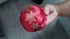 Patchwork - vianočná guľa