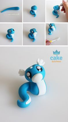 Most current Photographs Polymer clay crafts pokemon Suggestions Cute Polymer Clay, Polymer Clay Animals, Cute Clay, Fimo Clay, Polymer Clay Charms, Polymer Clay Creations, Polymer Clay Sculptures, Clay Beads, Cake Dutchess