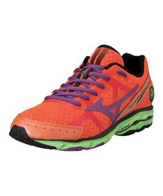 0b73911a14ce Celosia  amp  Purple Passion Wave Rider 17 Running Shoe by Mizuno  zulily   zulilyfinds