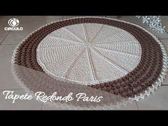 Tɑpete Redondo Pɑris - YouTube Crochet Mandala, Mehndi Designs, Diy And Crafts, Applique, Crochet Hats, Make It Yourself, Rugs, Youtube, Bedspreads