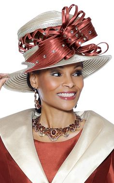 Image detail for -... Church Hat On Sale At Gorgeous Sundays SH3409 - GorgeousSundays.com