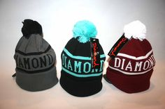 Diamond beanies