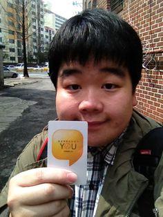 @helpwjy 보내주신 카드와 함께 19대 총선 투표 인증샷~ 찰칵!