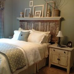 Vintage Headboards | Headboards, tables, and benches made using re-purposed materials.