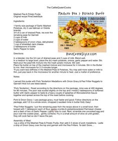 This is sooo good! The whole dinner was fantastic. Hubby doesn't like Peas...until NOW! He wanted seconds! From PineCreekStyle.com, FB, IG & Pinterest Visit, Share & Follow today!