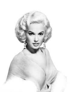 """The last of the '50s era blonde bombshells, Miss Mamie Van Doren. Still going strong today at age 82, she once said: """"I came to Hollywood determined to follow in Jean Harlow's footsteps, but I was determined not to die young. My hope was to endure. And endure I have."""""""