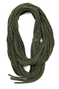 We think this would make a great mens winter scarf. It's a military green with stripes, chunky cotton circle scarf. A perfect accessory you can share with your GF or BF or BFF! - 100% cotton - Womens